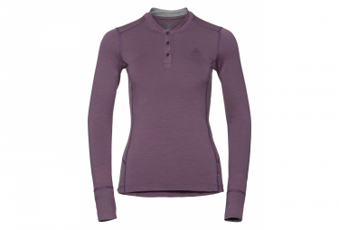 Odlo NATURAL 100% MERINO Long Sleeves T-shirt Purple