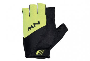 Par de guantes Northwave Flash 2 Amarillo / Negro