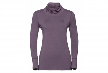 Odlo NATURAL Long Sleeves T-Shirt Purple