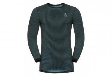 T-shirt Manches Longues Odlo PERFORMANCE Blackcomb Homme Gris Vert