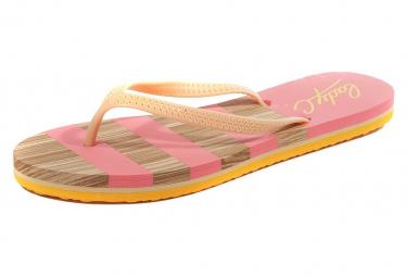 Sassi Femme Tongs Orange Cool Shoe