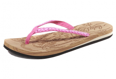 Low Key Femme Tongs Rose Cool Shoe