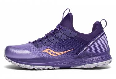 Zapatillas Saucony Mad River TR para Mujer Púrpura