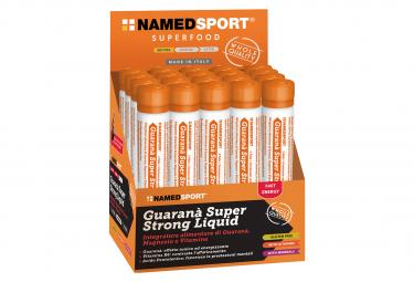 Fiole Energétique Named Sport Guarana Super Strong Liquide 20ml