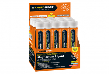 Food Supplement NamedSport Magnesium Liquid + Vitamin B6 25ml