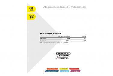 Complément Alimentaire NamedSport Magnesium Liquid + Vitamin B6 25ml