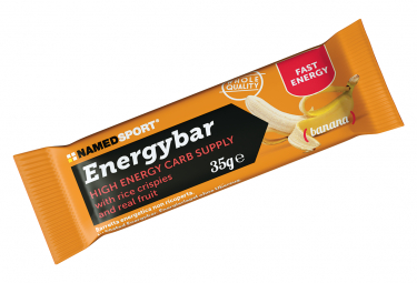 Energy bar NamedSport EnergyBar Banana 35g