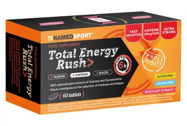 Complément Alimentaire NamedSport Total Energy Rush 60 Comprimés