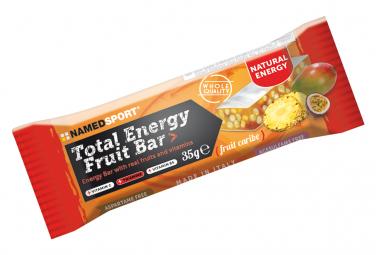 Energy Bar NamedSport Total Energy Fruit Bar 35g Fruits Caribe