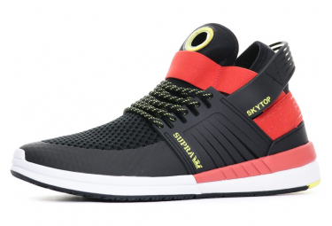 Sneakers noir/rouge homme Supra Allemagne