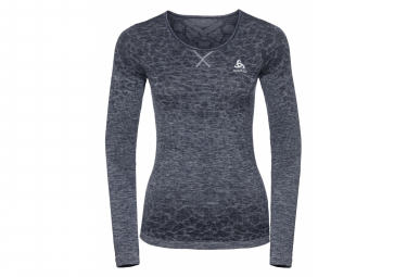 Odlo EVOLUTION LIGHT Long Sleeves Women's Top Blackcomb Gris
