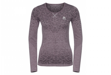 Odlo EVOLUTION LIGHT Long Sleeves t-shirt Blackcomb Purple