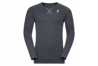 T-shirt Manches Longues Odlo EVOLUTION LIGHT Blackcomb Homme Noir