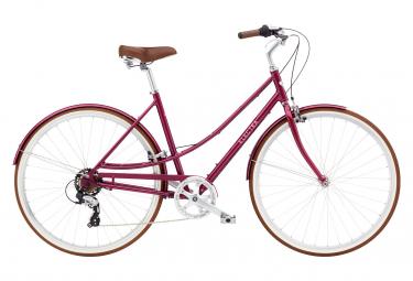 Bicicleta Ciudad Mujer Electra Loft 7D Rouge