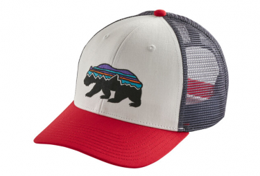 PATAGONIA Fitz Roy Bear Trucker White
