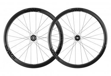 Pair of Wheels Enve SES 3.4 Tubeless Ready | 9x100 - 9x130 mm Black
