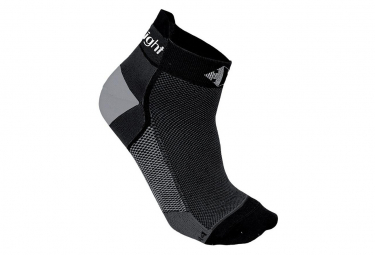 Chaussettes Raidlight Fines Seamless Black/white