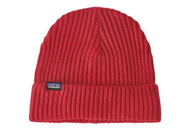 PATAGONIA Fishermans Rolled Beanie Red