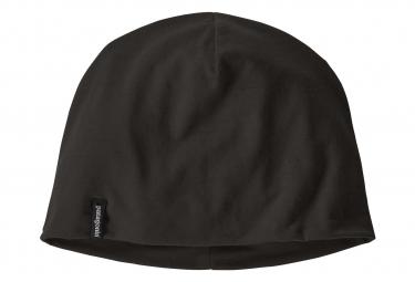 Bonnet PATAGONIA Overlook Merino Wool Liner Noir