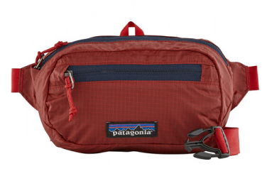 Ceinture banane <strong>patagonia</strong> ultralight black hole mini hip pack rouge