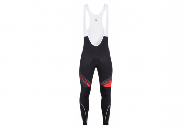 Collant Team Long Look Pro Nero / Rosso