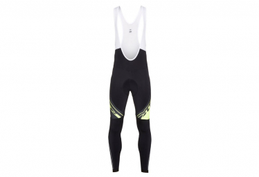 Long Look Team Pro Tights Black / Fluo Yellow