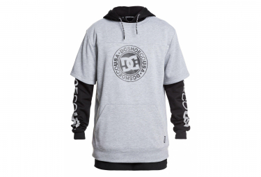 Sudadera DC Shoes Dryden Negro / Gris
