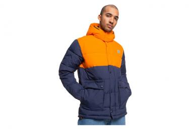 Down Jackets DC Shoes D Hood Straffen Black / Orange