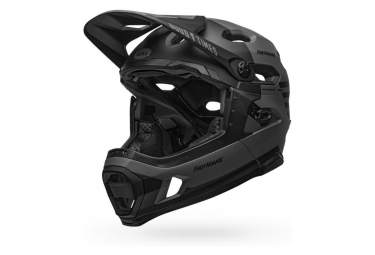 Bell Super DH Mips Helmet with Removable Chinstrap Grey Black