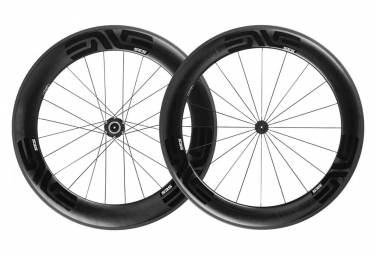 Pair of Wheels Enve SES 7.8 Tubeless Ready | 9x100 - 9x130 mm Black