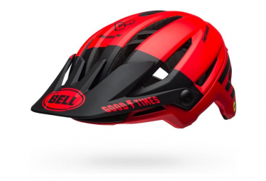 Bell Sixer Mips Fasthouse Helmet Matte Red Black