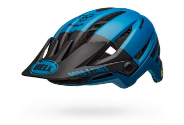 Casco Fasthouse Bell Sixer Mips Blu Opaco Nero