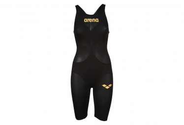 Trisuit Arena Woman Powerskin Carbon Open Back Black Gold 28