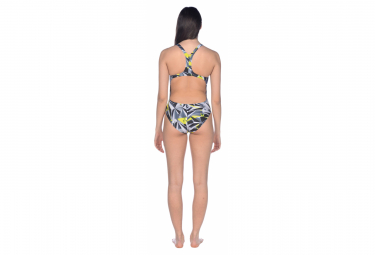 Swimsuit One Piece Woman ARENA 3D Shattered Booster Multi-colors