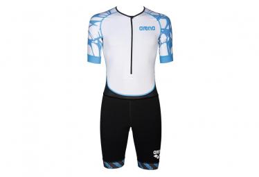 Trisuit Arena Triathlon St Aero White Blue S
