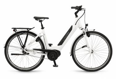 Vélo de Ville Électrique Winora Sinus iN8f Monotube 500 Wh 28'' Shimano Nexus 8V Blanc 2021