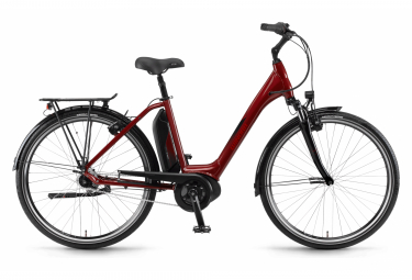 Winora Sima N7 Plus 500 Monotube Womens E-Bike  Rouge