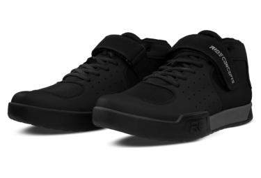 Image of Chaussures vtt ride concepts wildcat noir charbon 41