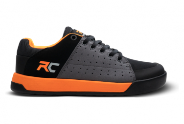 Kids Ride Concepts Livewire Charcoal / Orange MTB Shoes