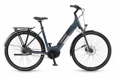 Winora Yucatan iN7f Monotube Womens E-Bike  Bleu