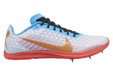 Chaussures d'Athlétisme Nike Zoom Rival XC Blanc / Orange