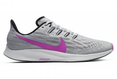 Zapatillas Nike Air Zoom Pegasus 36 para Hombre Gris / Púrpura