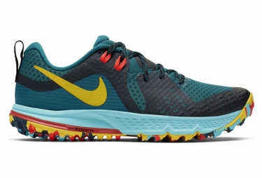 Nike Air Zoom Wildhorse 5 Green Multi-Color Women