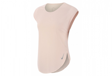 Maillot Manches courtes Nike City Sleek Rose Femme