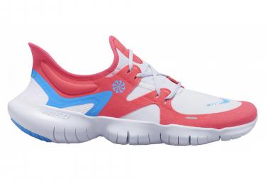 Zapatillas Nike Free RN 5.0 para Hombre Blanco / Rojo