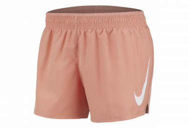 Nike Short Swoosh Run Pink Women