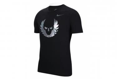 Nike Short Sleeves Jersey Dry Oregon Project Black