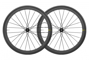 Pair of Mavic Ksyrium Pro Carbon Wheels UST Disc | 12x100 - 12x142 mm | Edition Tour de France 2019