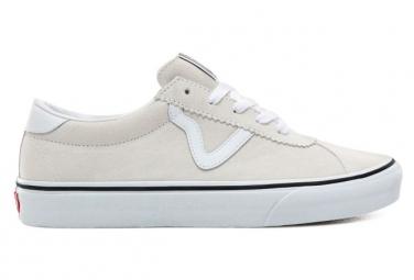 Chaussures Vans Daim Sport Suede Blanc
