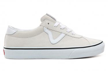 Vans zapatos ua sport suede white 43
